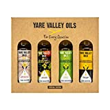 Yare Valley Oils Paquete de selección «For Every Occassion» | Aceites naturales de colza prensados en frío | 4 x 100 ml