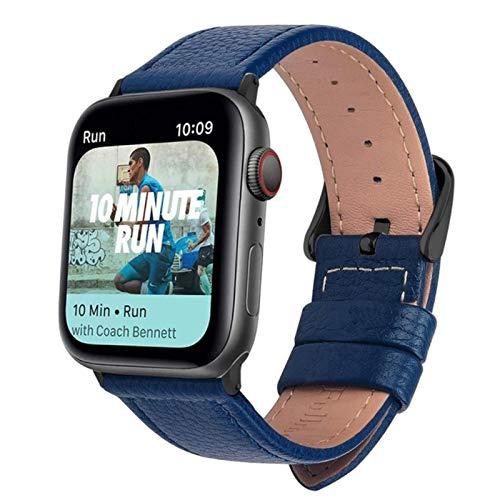 Para la correa de cuero para Apple Watch Band Series 5/3 Sport Bracelet 42mm 38mm Correa para iwatch 6 4 SE Band 42 mm