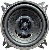 1 CIARE CZ100 altoparlante diffusore sistema 2 vie coassiale da 10,00 cm 100 mm 4' 30 watt rms 80 watt max da predisposizione auto nero, 1 pezzo