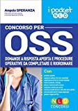 Concorso per OSS. Domande a risposta aperta e procedure operative da completare e riordinare