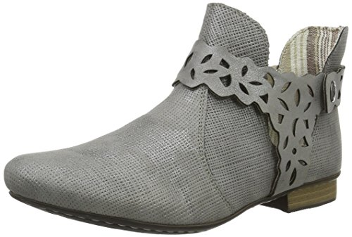 Rieker Damen 71995 Kalt gefüttert Classics Kurzschaft Stiefel und Stiefeletten, Grau (steel/42), 42 EU