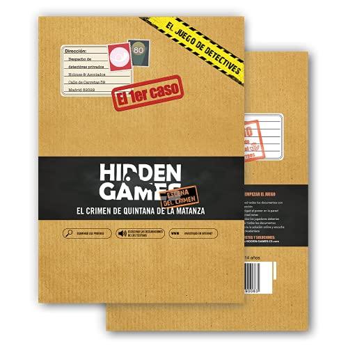 Hidden Games Escena del Crimen - EL 1er Caso - El Crimen de Quintana de la Matanza - Escape Room