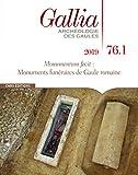 Gallia 76-1 - Monuments funéraires de Gaule romaine