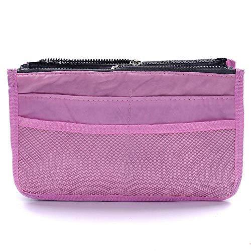 CBBIEN Makeup Bag Case Organizer Insert Bag Women Nylon Travel Handbag Large Liner Lady Make Up Cosmetic Bag Female Wash Toiletry Tote
