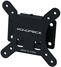 Moonrise Monoprice Fixed TV Wall Mount Bracket - for TVs 10in to 26in Max Weight 30lbs VESA Patterns Up to 100x100, Model:106520