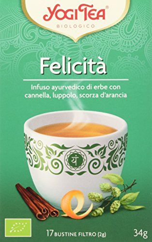 Yogi Tea Felicità, 17 Bustine Filtro, 34g