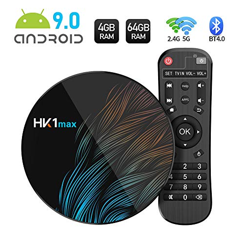 Sidiwen Android 9.0 TV Box HK1 MAX 4GB RAM 64GB ROM