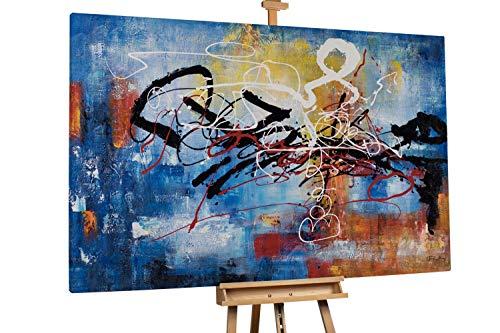 Kunstloft® Extraordinario Cuadro óleo 'Full of Life'