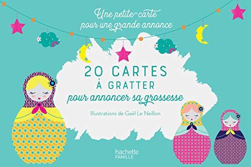 20 Cartes à gratter pour annoncer sa grossesse: Une petite carte pour une grande annonce