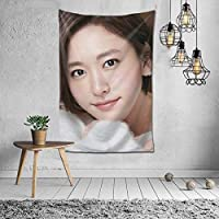 Yui Aragaki Tapestry Wall Hanging Poster Background Wall Decor Home Living Room Bedroom Room Stylish 39.4 x 59.1 inches (100 x 150 cm)