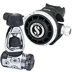 Scubapro's compact regulator is completely sealed off from the elements to keep out water and pollutants, making it ideal for less-than-pristine waters. With an air-balanced diaphragm first-stage and a chrome-plated brass body, The regulator delivers...