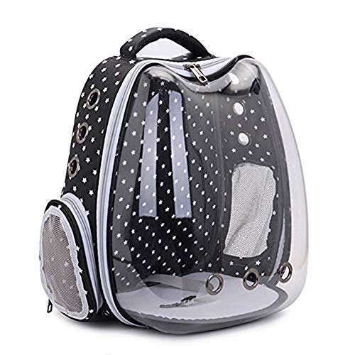 Bcaer Cat-shaped backpack with large luggage space capsule bubble windows for cats and dogs cats and other pets,Star