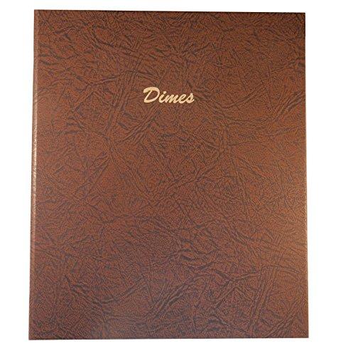 Dansco Dimes Plain with 168 Ports Album #7127 by Dansco