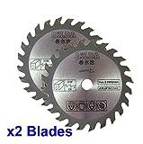 Lames de scie circulaire 85mm de diamètre, alésage 10 mm pour la coupe du bois