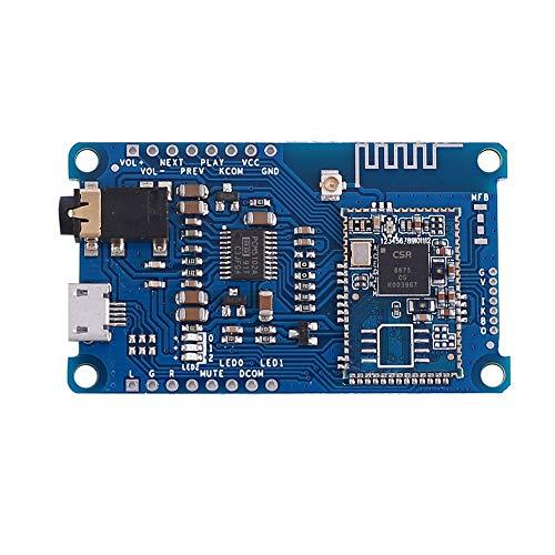 Módulo de descodificador de amplificador, CSR8675 LDAC BLE5.0 sin pérdida módulo decodificador Bluetooth PCM5102A placa receptora SBC/AAC/APTX/APTX-LL/ATPX-HD