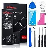 Batería para iPhone X 3390mAH con 38% más de Capacidad Que la batería Origina, FLYLINKTECH Reemplazo de Alta Capacidad Batería para iPhone X con Kits de Herramientas de reparación, Cinta Adhesiva