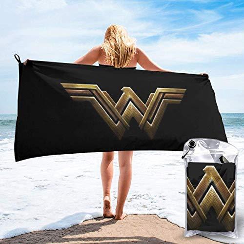 HKYP Toalla de bañoP Bath Towel Anime Wonder Woman Bath