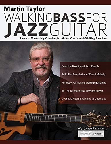 Martin Taylor Walking Bass For Jazz Guitar: Learn to
