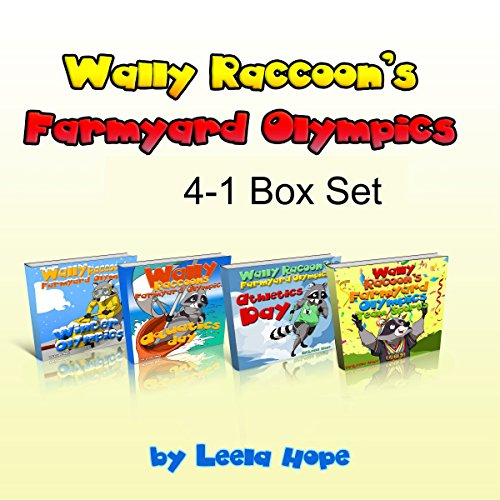 Books for Childrens: Wally Raccoon's 4-Book Collection  By  cover art