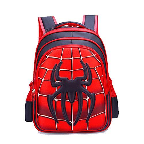 JIAN Mochila Niños Anime Cartoon School Bag Impermeable