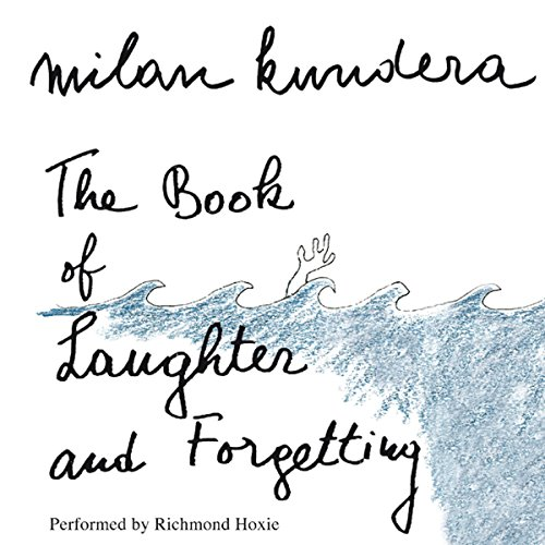 The Book of Laughter and Forgetting audiobook cover art