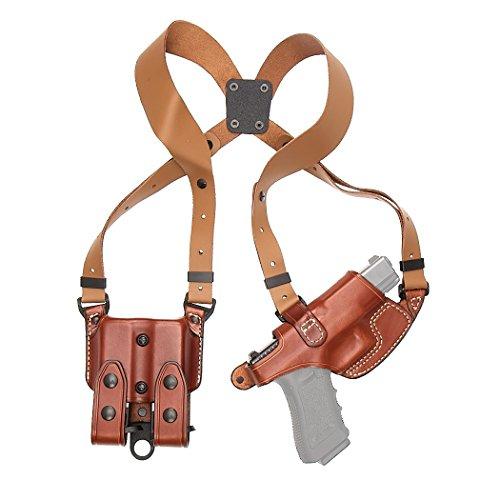 Aker Leather 101 Comfort-Flex Shoulder Holster, Tan, Sig Sauer P220/226/229