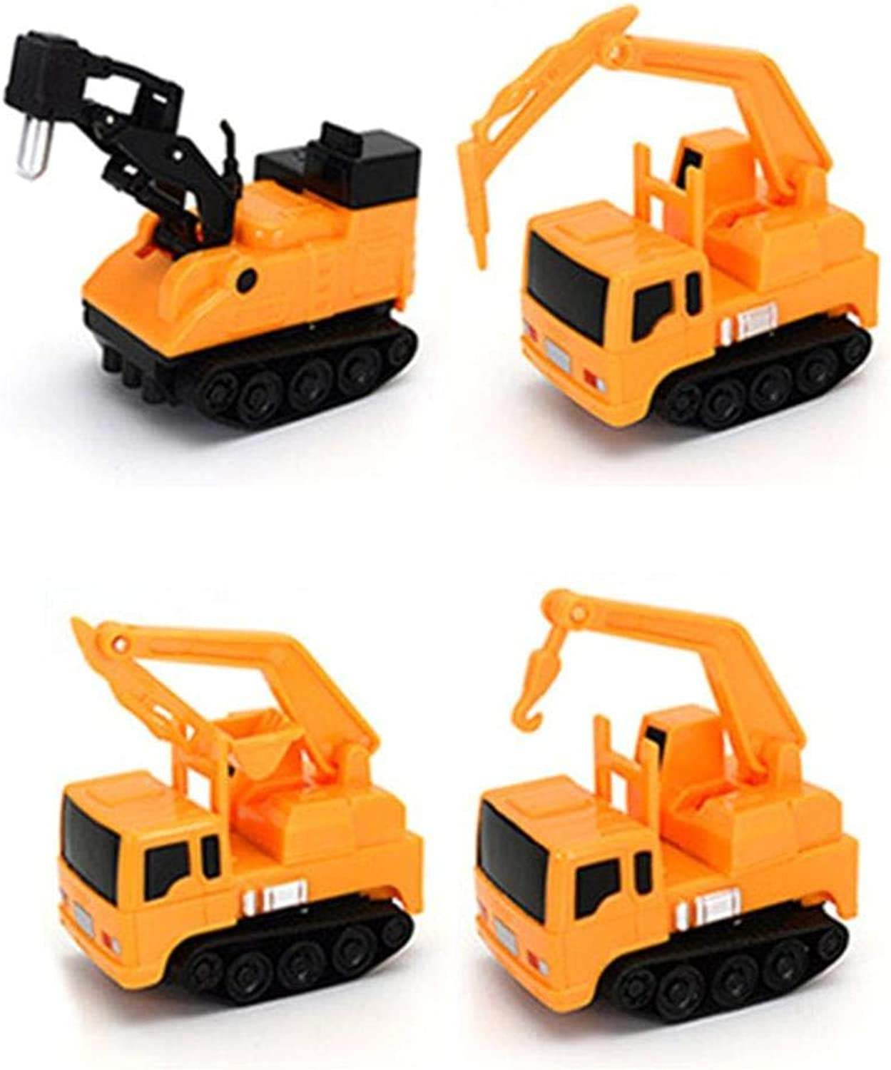 Generic Follow Any Drawn Line Magical Pen Inductive Toy Cars Trunks Yellow