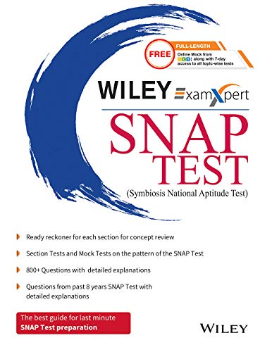Wiley's ExamXpert SNAP TEST (Symbiosis National Aptitude Test)