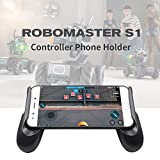 Mobile Phone Game Controller USB Wired Gamepad Holder Stand for DJI RoboMaster S1-Black