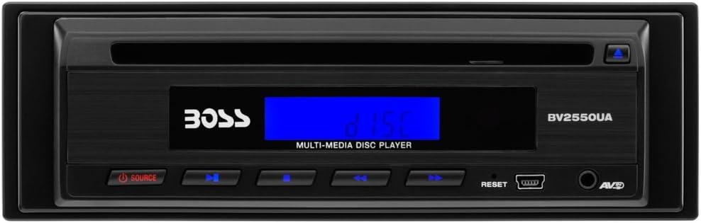 Amazon.com: BOSS Audio Systems BV2550UA Single-DIN DVD Player , Wireless  Remote: Car ElectronicsAmazon.com