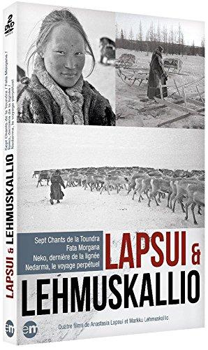 Lapsuy & Markku Lehmuskallio : Sept chants de la Toundra + Fata Morgana + Neko, dernière de la lignée + Nedarma, le voyage perpétuel [Francia] [DVD]