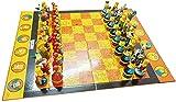 Juego de juegos de mesa de entretenimiento Conjunto de ajedrez de plástico Figura Figura pieza de ajedrez kit de ajedrez juego de ajedrez regalos para niños estudiantes niños regalos Juego de tablero