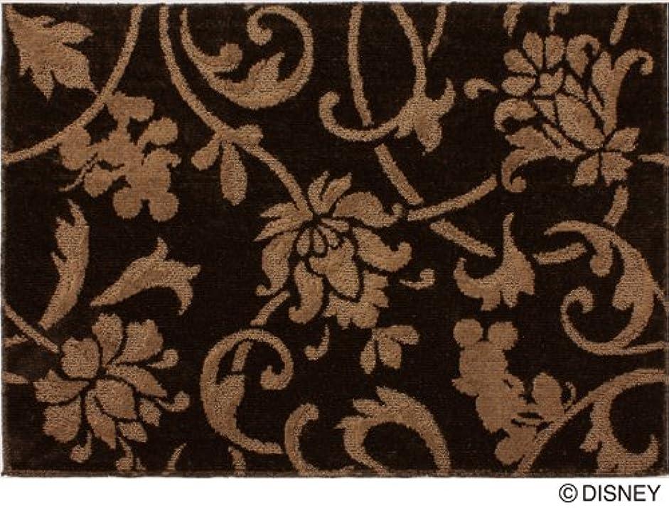 グリーンバック一回縫うスミノエ ディズニー ラグ DRM-1002 140×200cm ブラウン 13310194