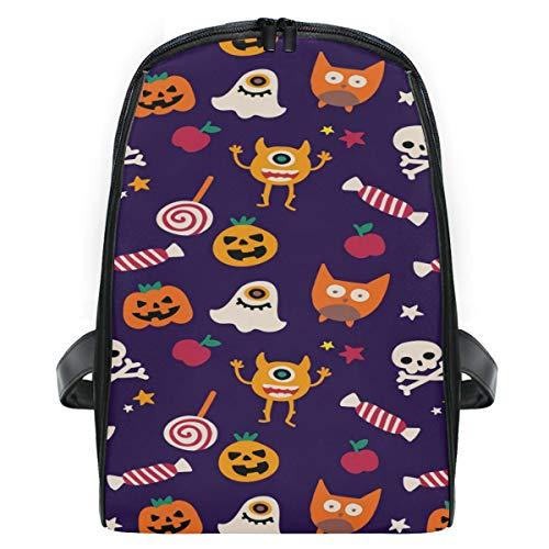MONTOJ Halloween-Rucksack, Kürbis-Gespenster, für Kinder im ersten Jahr, extra klein