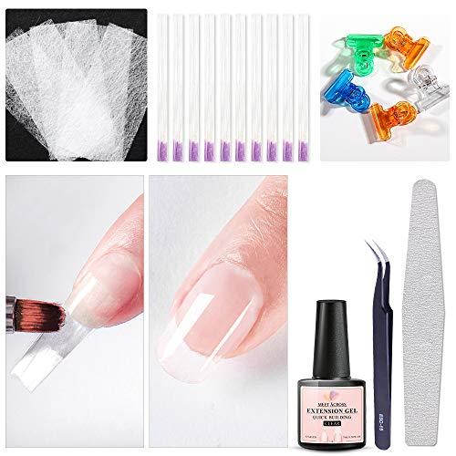 Fiberglass Nail Extension Kit with...