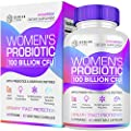 Probiotics for Women - 100 Billion CFU with Probiotic Strains contains Vitamins, Minerals, Fruits, Veggies & Enzymes, Womens Probiotic Supplement for Digestive & Immune Health 60 Capsules