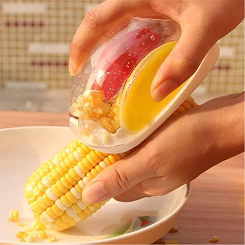 Creative Funny Mouse Shaped Corn Peeler Portable Manual Corn Cob Shaver Home Thresher Kitchen Remover Tool