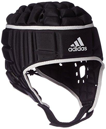 adidas Herren Rugby Kopfschutz Helm Helmet, black/Mtsilv, S