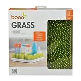 Boon GRASS Abtropfgestell mit praktischer Auffangschale für die Küche, Stylisches zweiteiliges Trockengestell in Grün, Baby Erstausstattung, Trockenständer für Babyflaschen, Baby Zubehör - 8