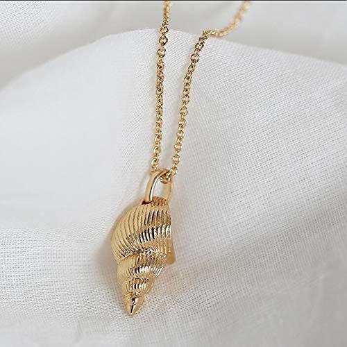 ZHIRCEKE Charms Colgante o Collar Cadena Chapada en Oro Mujer - Idea de Regalo de la Mujer de la joyería