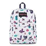 JanSport Black Label Superbreak Backpack - Lightweight School Bag   Powerful Magic Rocks Print