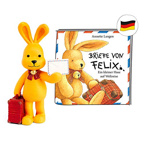 tonies Hörfiguren für Toniebox - Felix - Briefe von Felix - ca. 53 Min. - Ab 3 Jahre -DEUTSCH