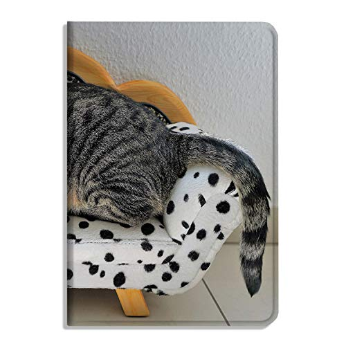 Cat Tiger - Funda para iPad Air 4 (función atril, función atril, función atril, función atril, función atril automática, reposo/despertador, sofá para muebles de perro