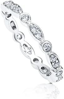 Mejor Sterling Silver Cubic Zirconia Rings de 2020 - Mejor valorados y revisados