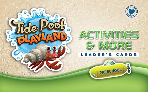 Activities & More Leader's Cards: Preschool (Vacation Bible School (VBS) 2016: Deep Sea Discovery—God Is with Me Wherever I G)