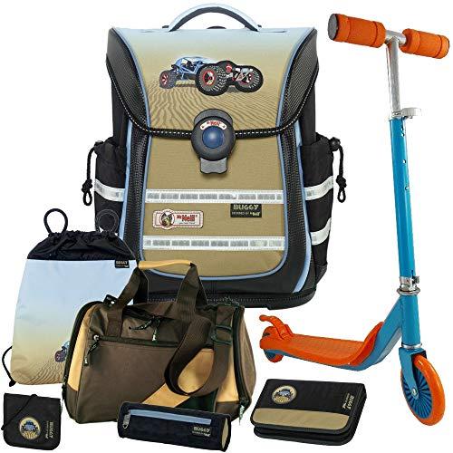 Buggy - McNeill Ergo Light Pure Schulranzen-Set 7tlg. mit Sporttasche - Scooter GRATIS DAZU !