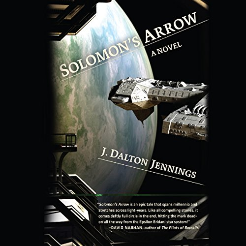 Solomon's Arrow audiobook cover art