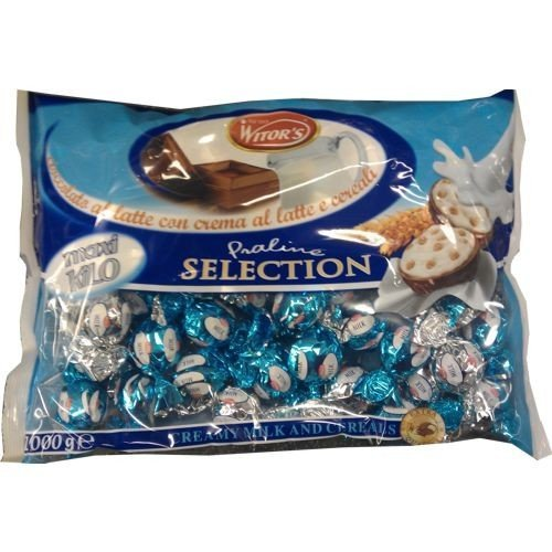 Witor's Praline Praline Selection 1000g Beutel (Milch-Creme & Cerealien)