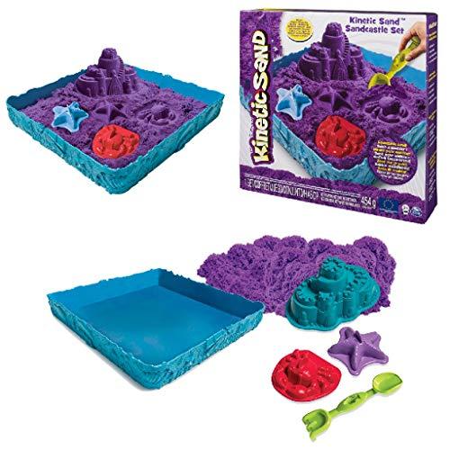 Kinetic Sand-Playset Castelli di Sabbia Modelli/Colori...