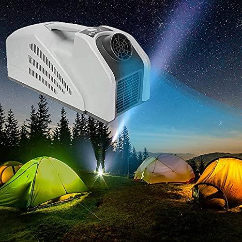 HBSMZS Condizionatore d'Aria Portatile, climatizzatore Mobile Portatile, Dispositivo di Raffreddamento dell'Aria, 2350 BTU, refrigerazione 3? 42 ° C, intervallo 285-428 Piedi cubici, quiete 55db